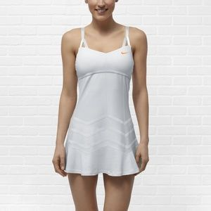 Nike Maria Sherapova Flounced Tennis Dress